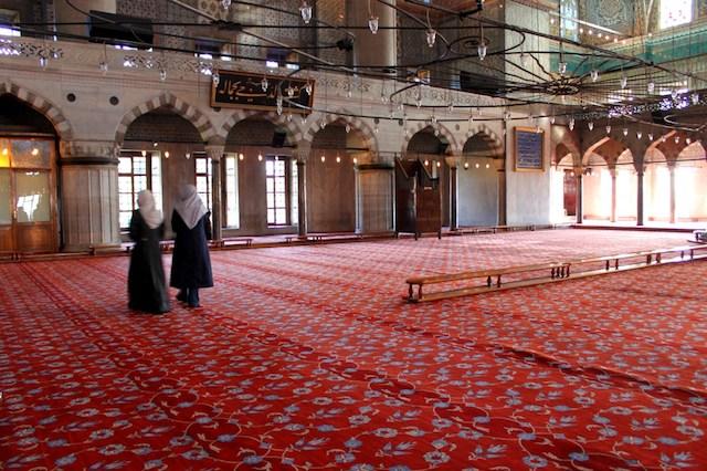 Ricordo con affetto le moschee di Istanbul
