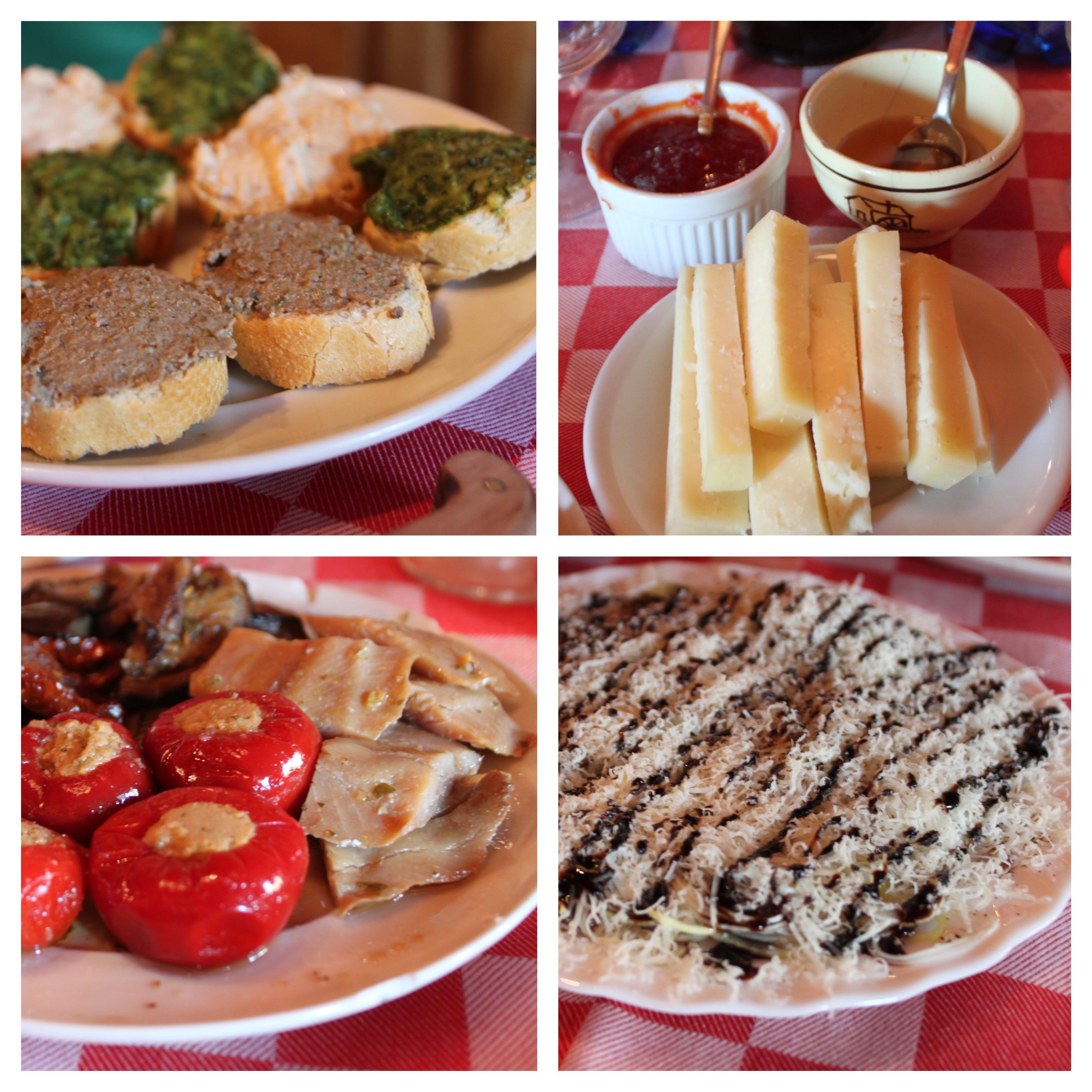 piatti, antica osteria di nandone omomorto