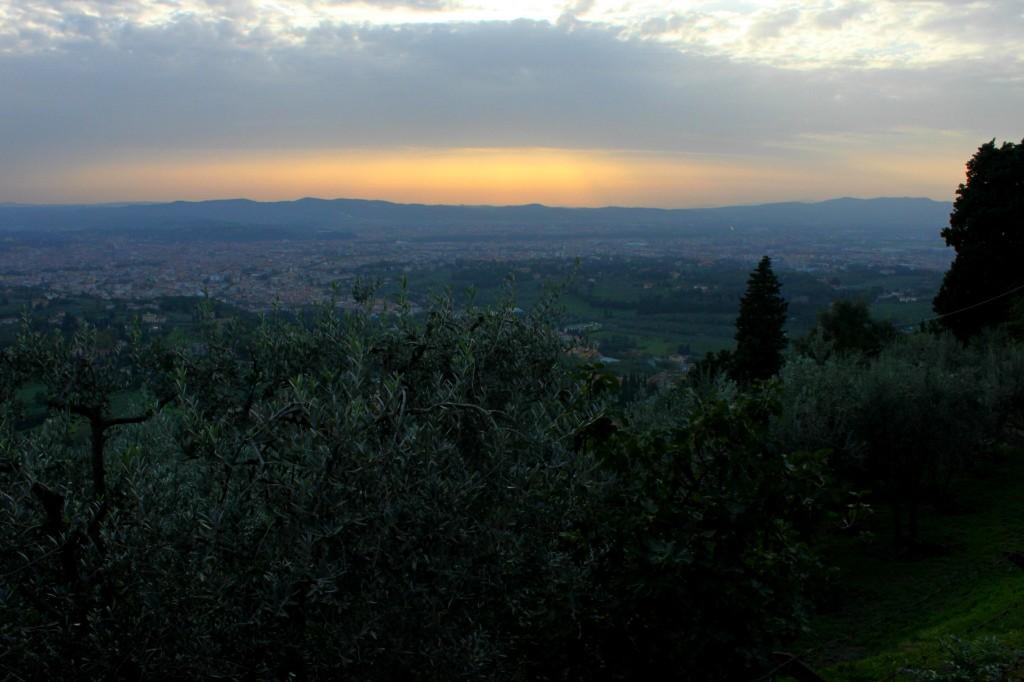 tramonto a fiesole