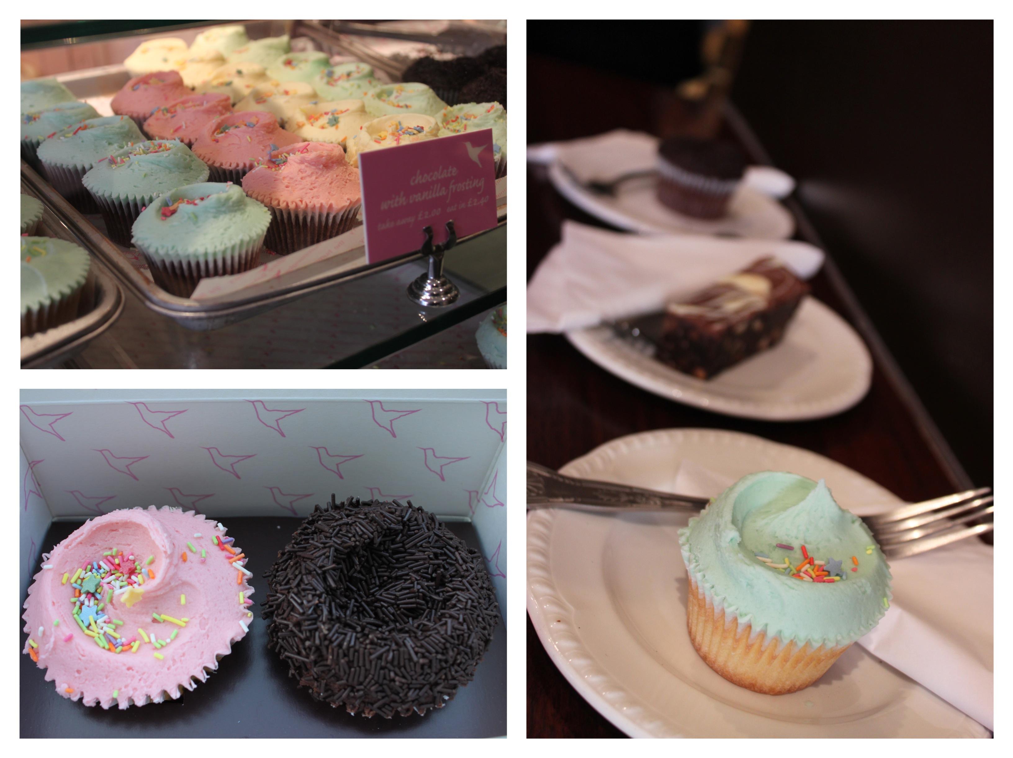 hummingbird bakery london portobello cupcake