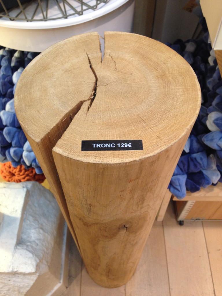 tronco, negozio di design a parigi, marais