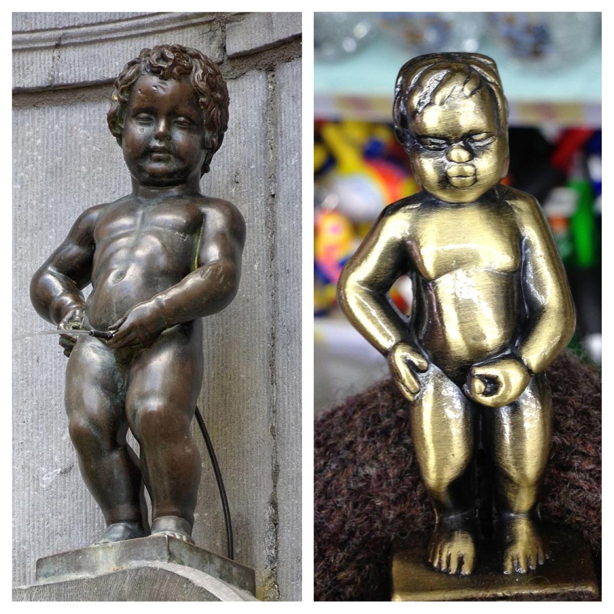 Manneken Pis souvenir, bruxelles, belgium