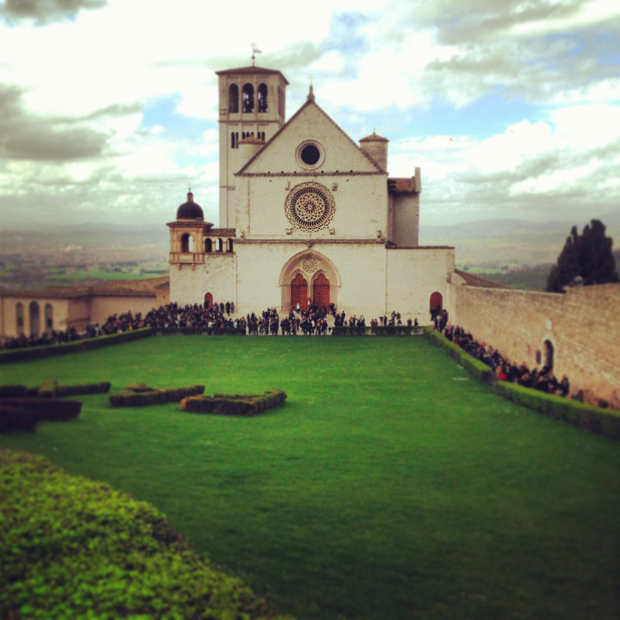 assisi, basilica di san francesco