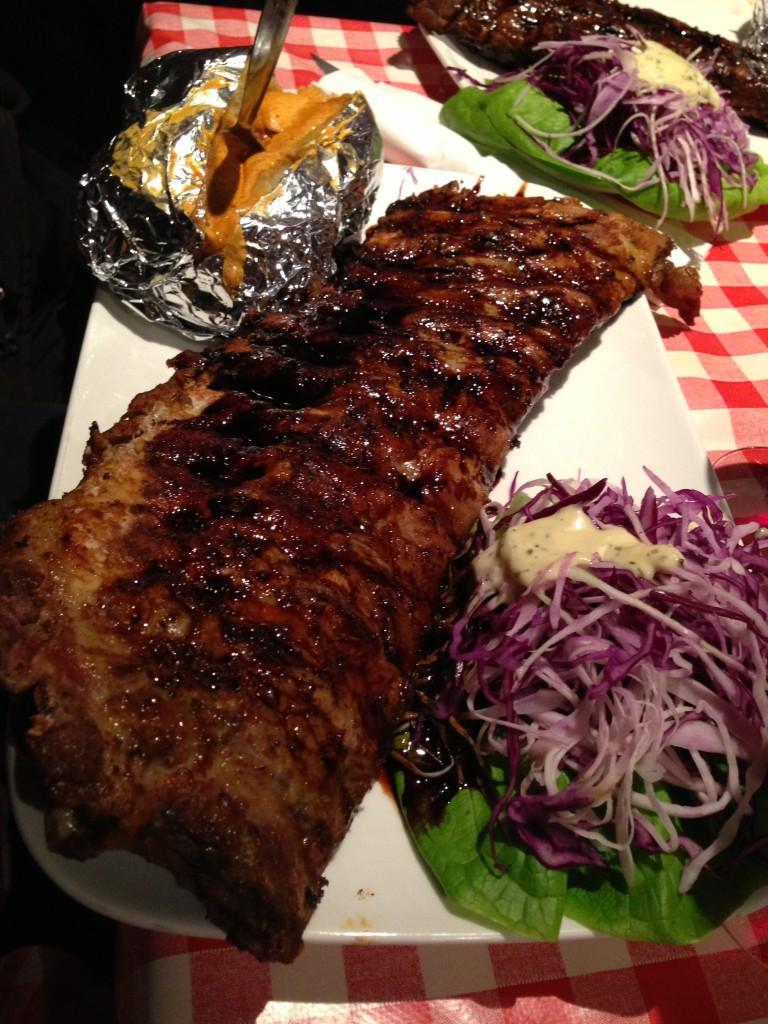 amadeus bruxelles spare ribs à volonté costolette ristorante