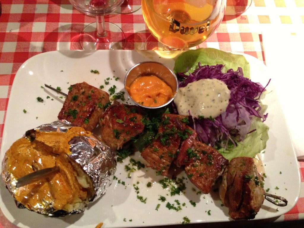 amadeus bruxelles spare ribs à volonté costolette ristorante2