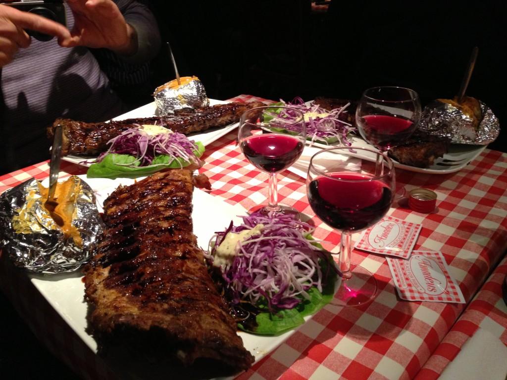 amadeus bruxelles spare ribs à volonté costolette ristorante3