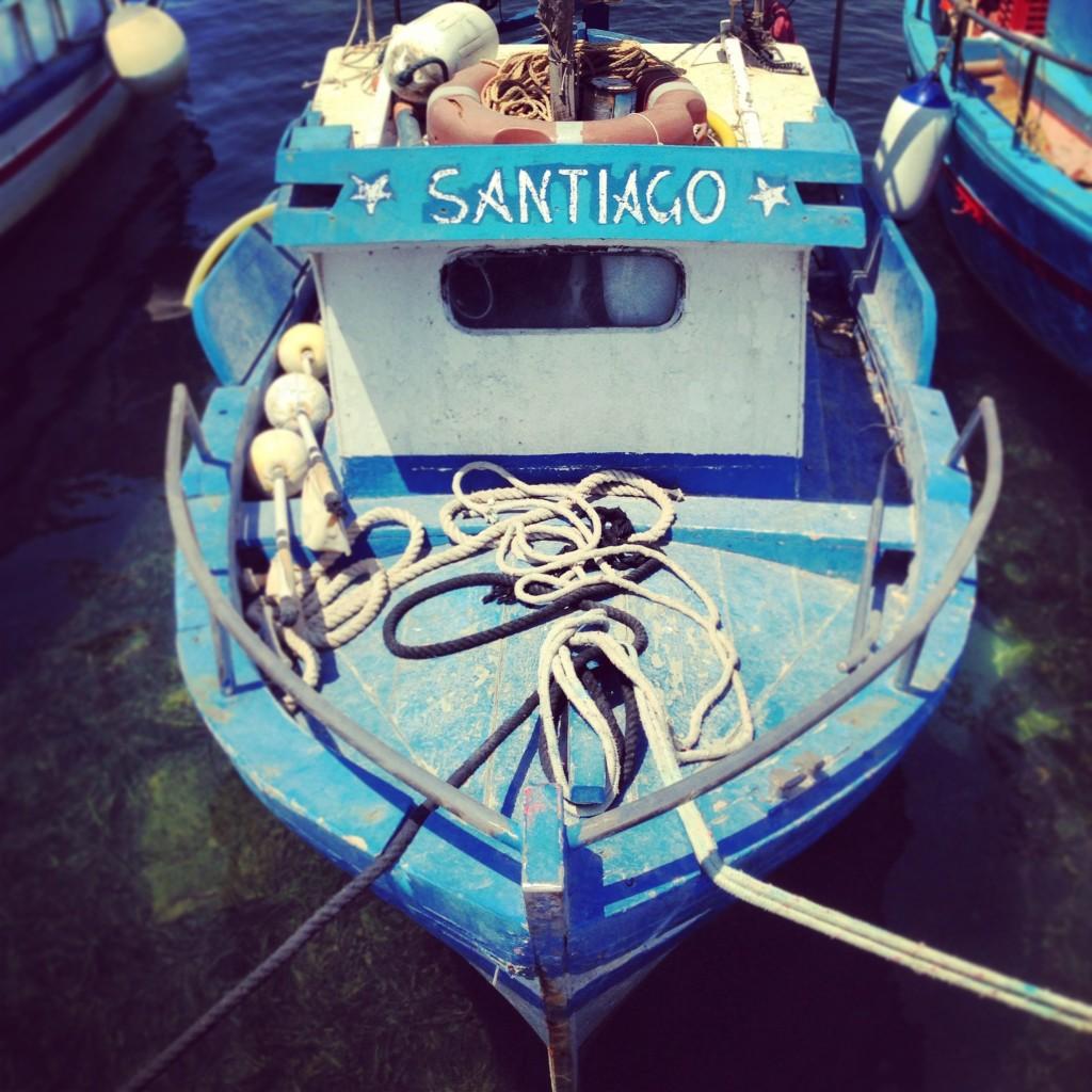 barchina azzurra, marzamemi, sicilia