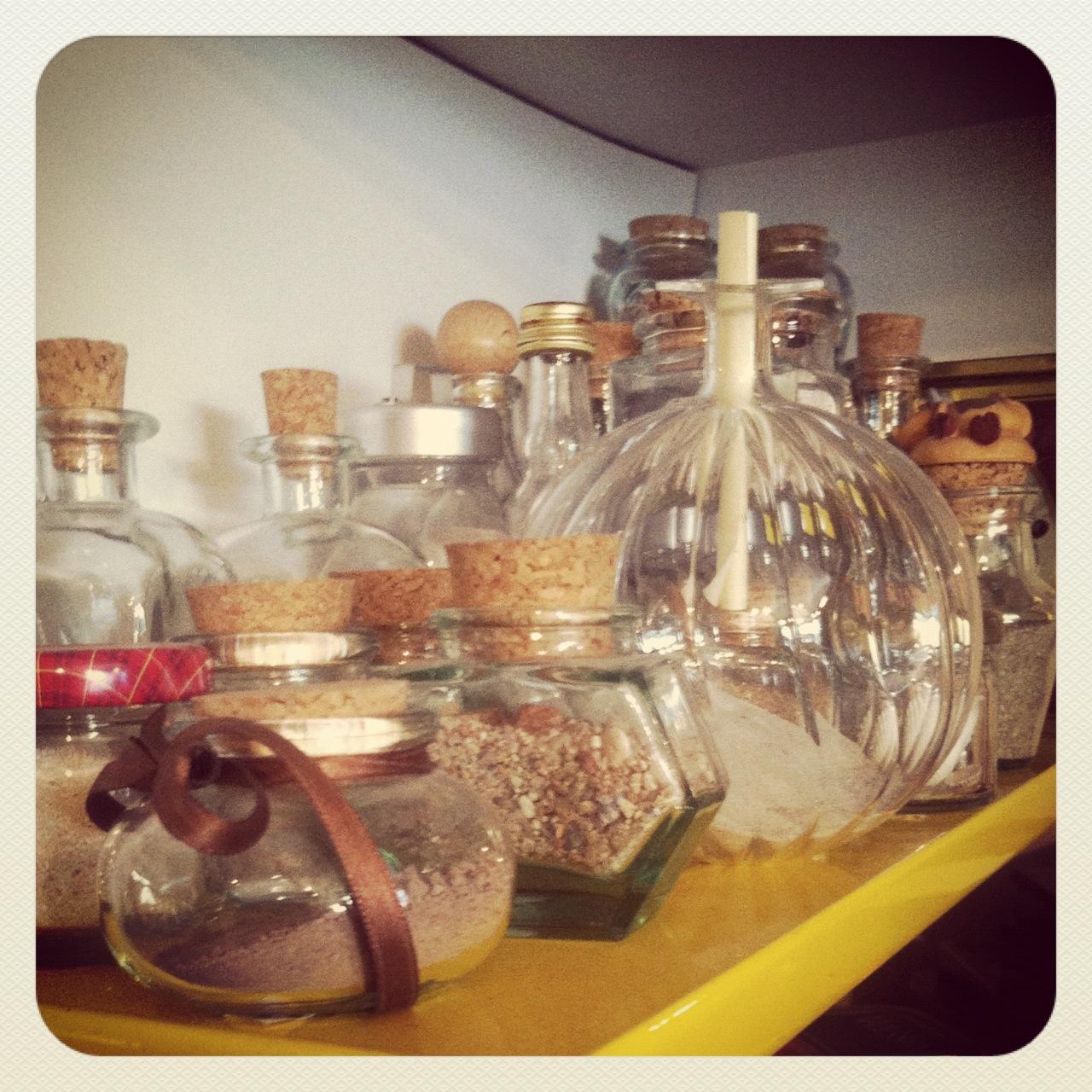 bottigliette di sabbia