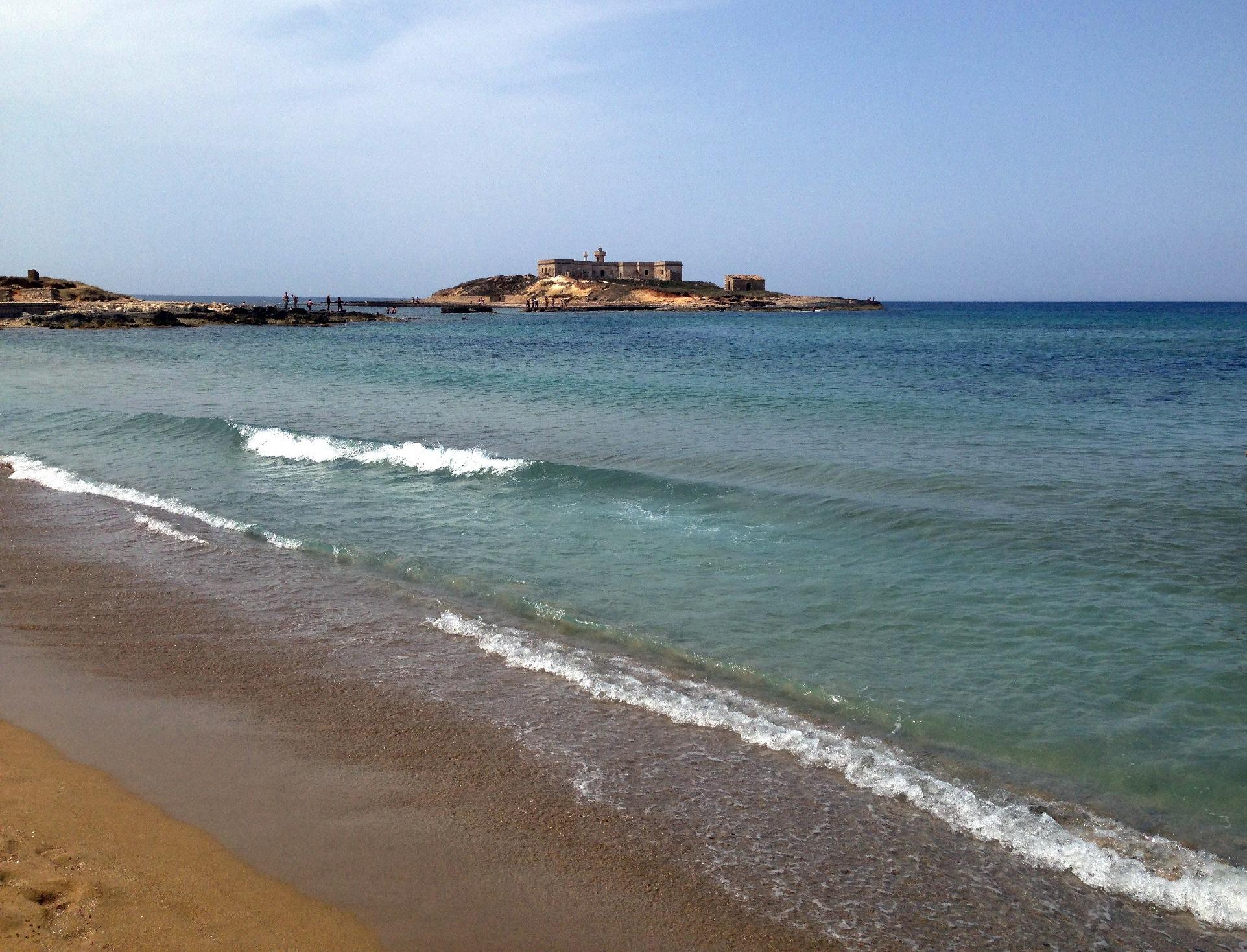isola delle correnti spiaggia sicilia