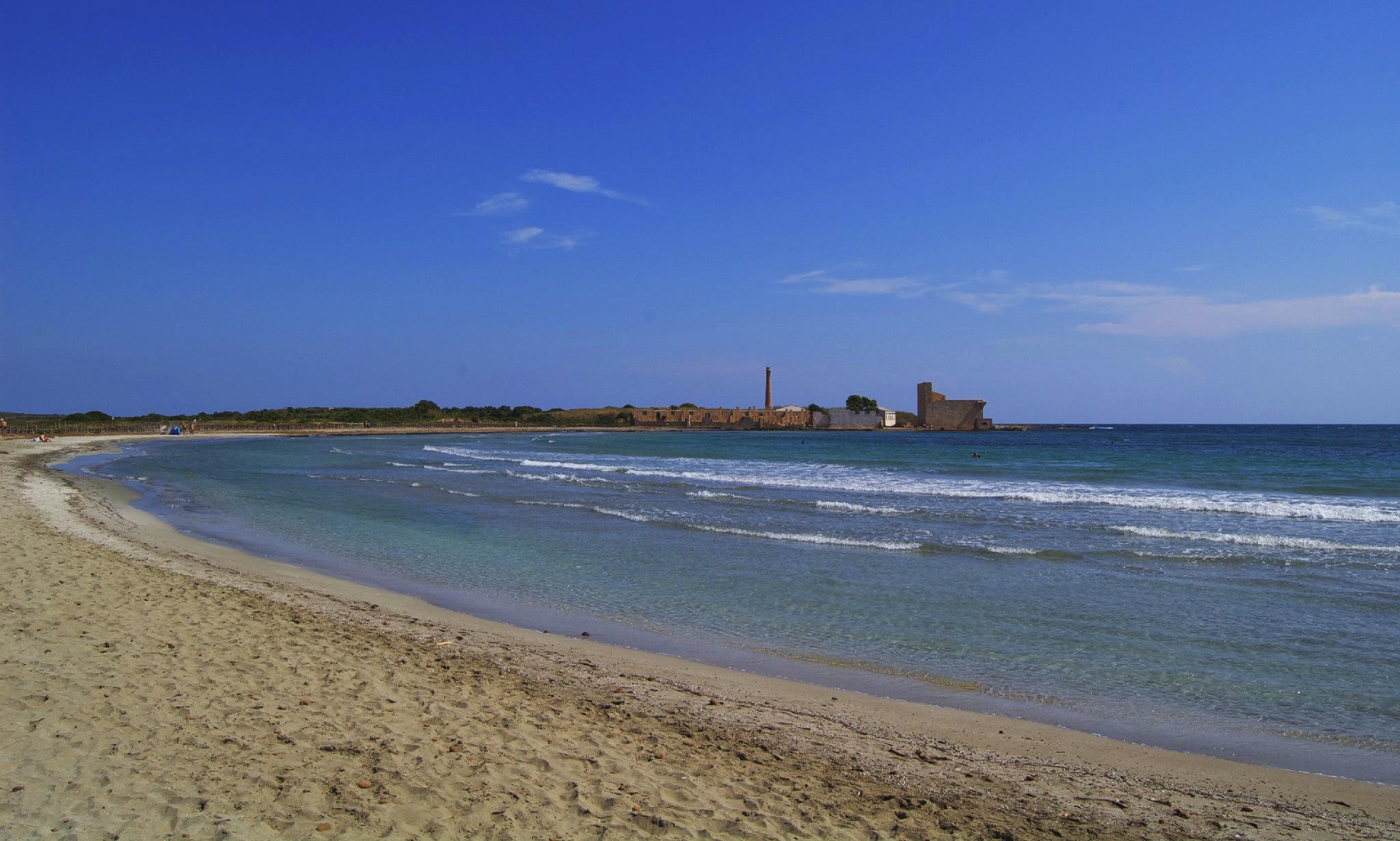 tonnara di vendicari spiaggia sicilia