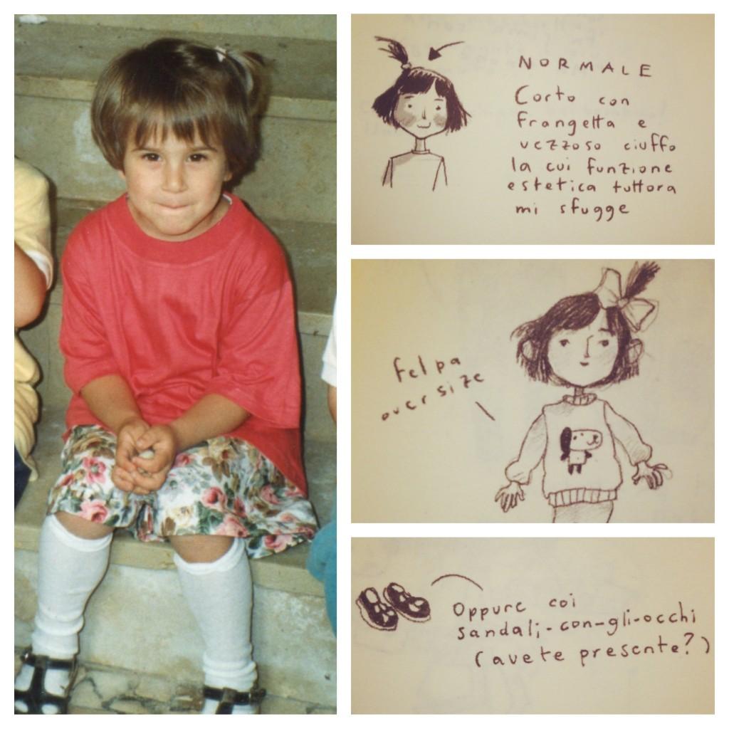 vintagismi - ciuffetto, oversize, sandali con gli occhi