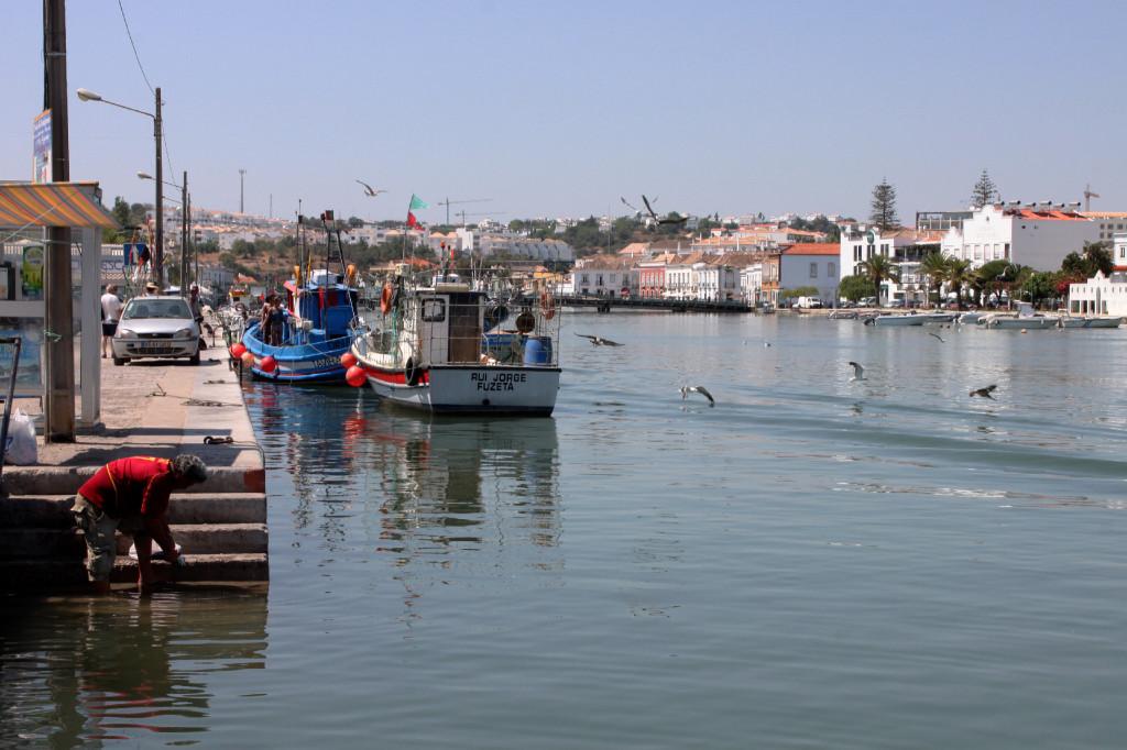 Al porto di Tavira