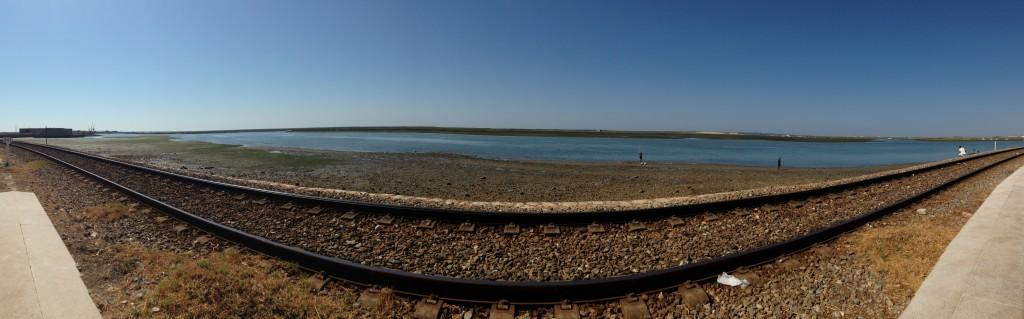 La ferrovia sul mare di Faro