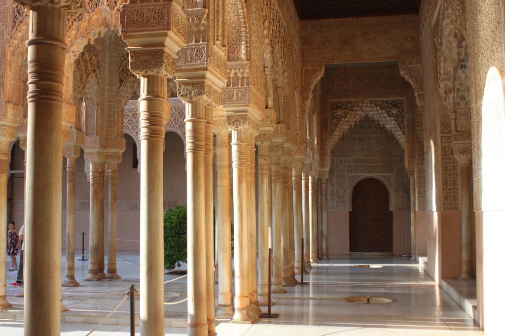 L'Alhambra, a Granada: uno dei luoghi più belli in cui io sia mai stata
