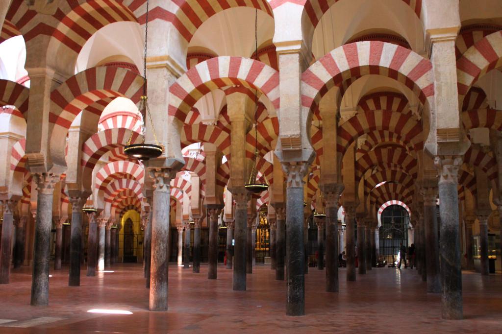 La Mezquita di Cordoba che sembra un bosco di pietra