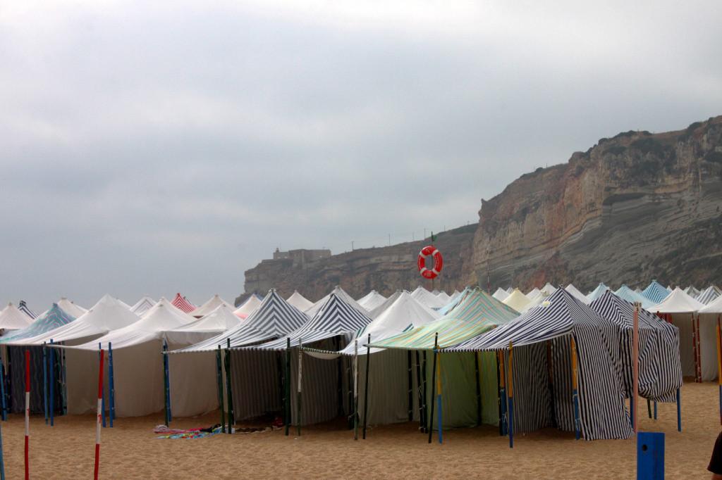 Nazarè, la spiaggia