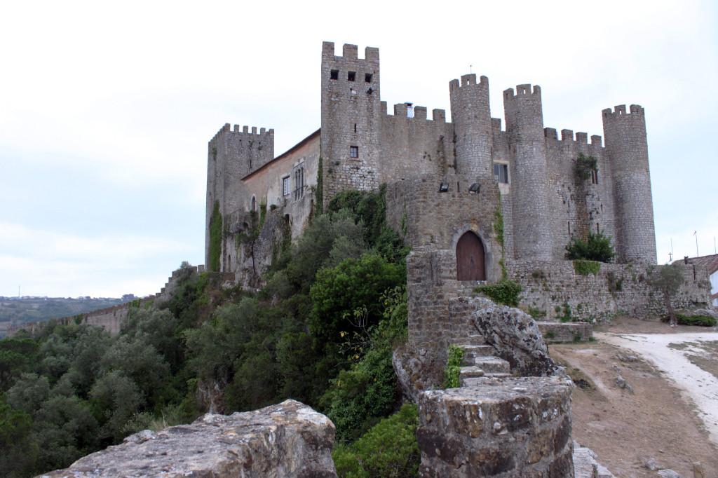 Il castello medievale di Obidos