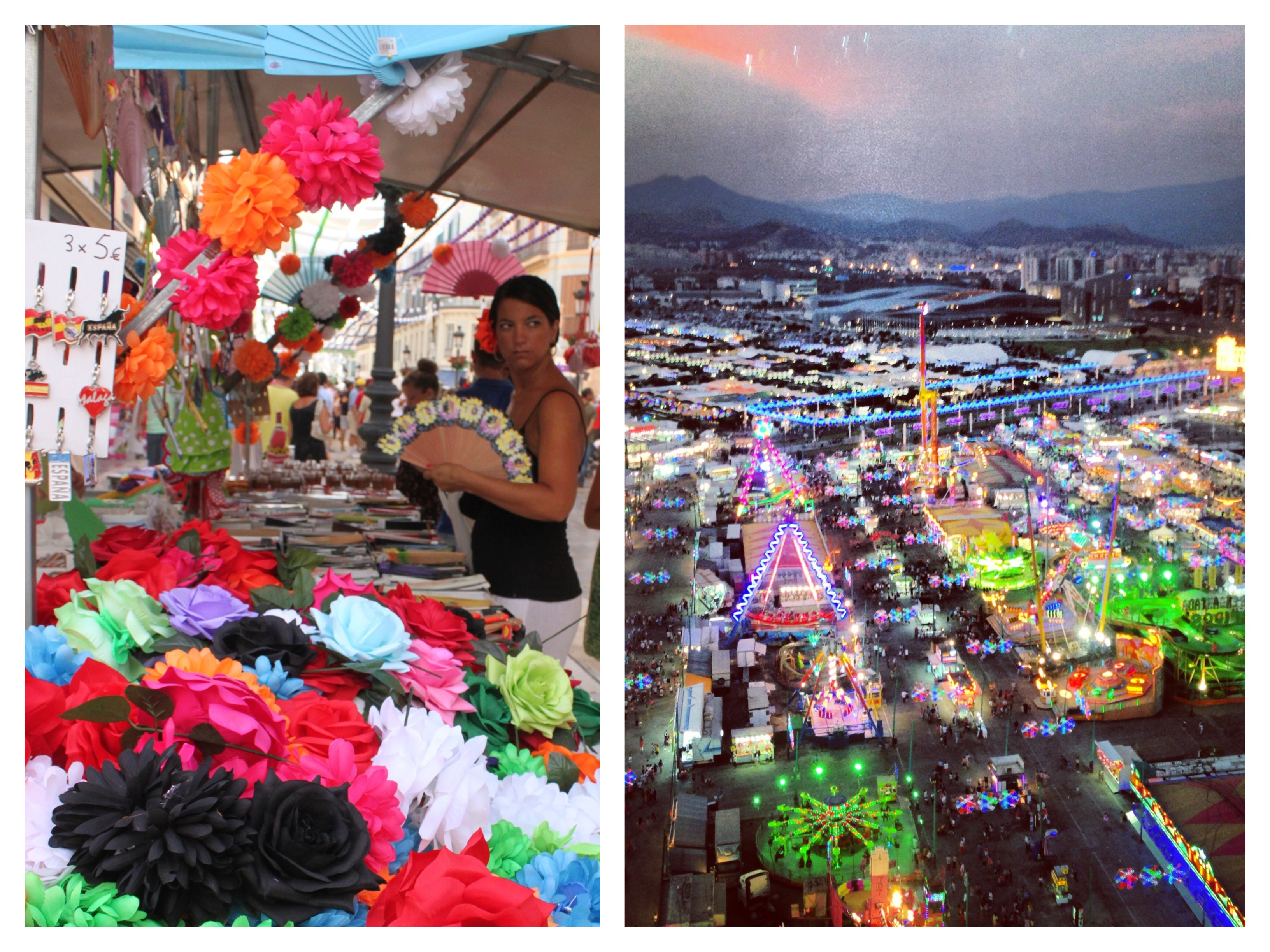 Feria del dia e feria de la noche - feria de malaga