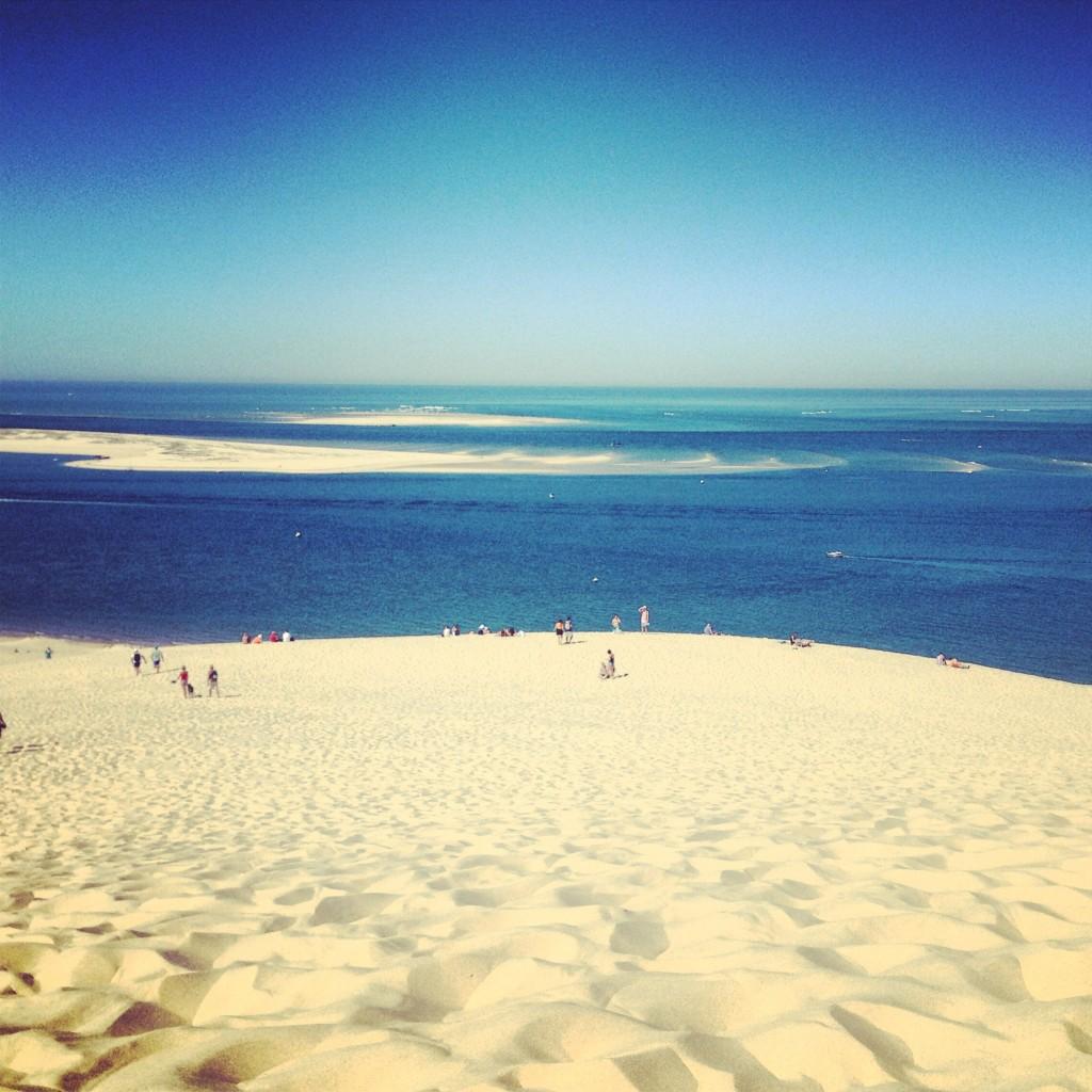 vista dalla dune du pilat