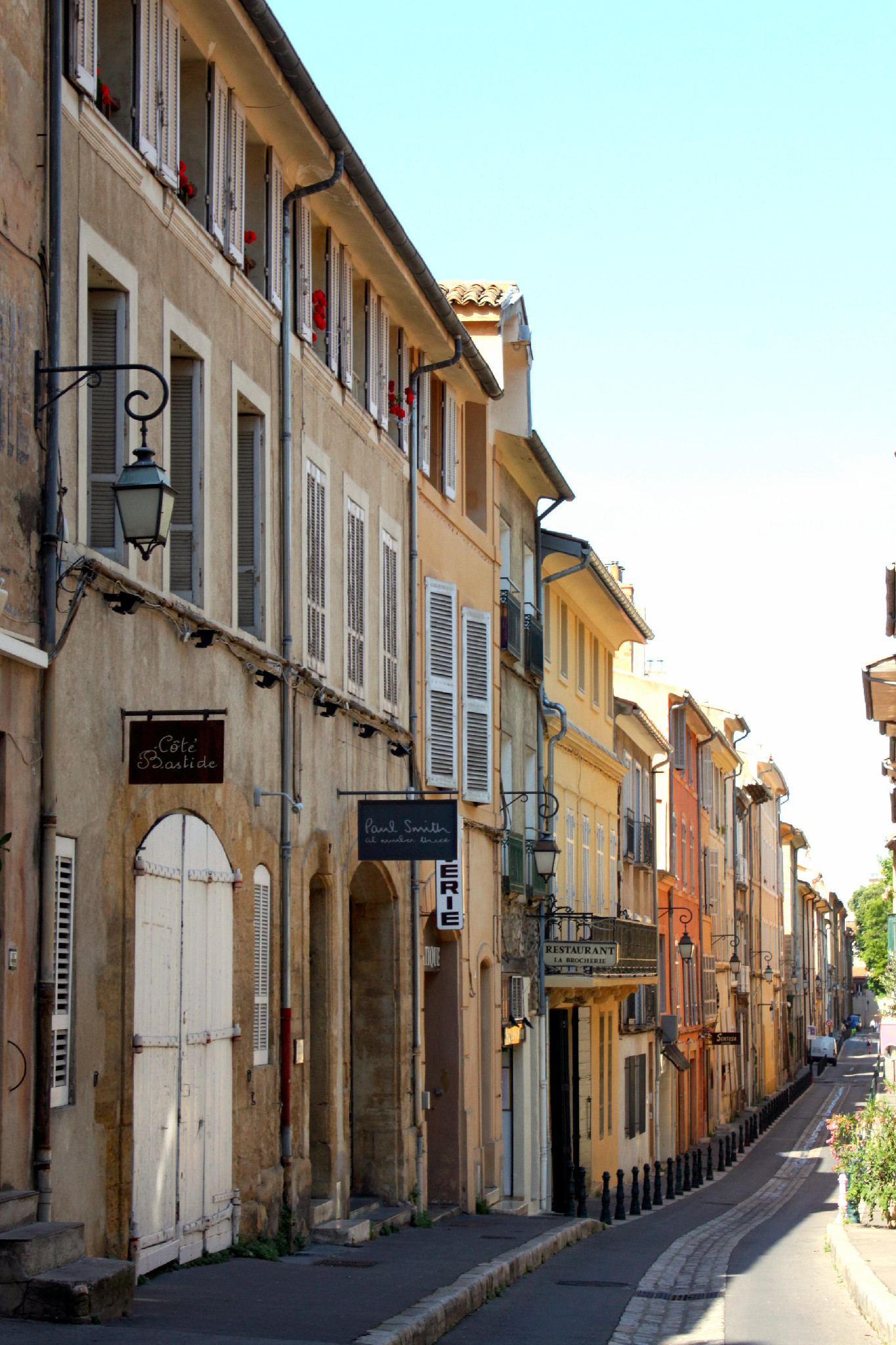 Le casine pastello di Aix