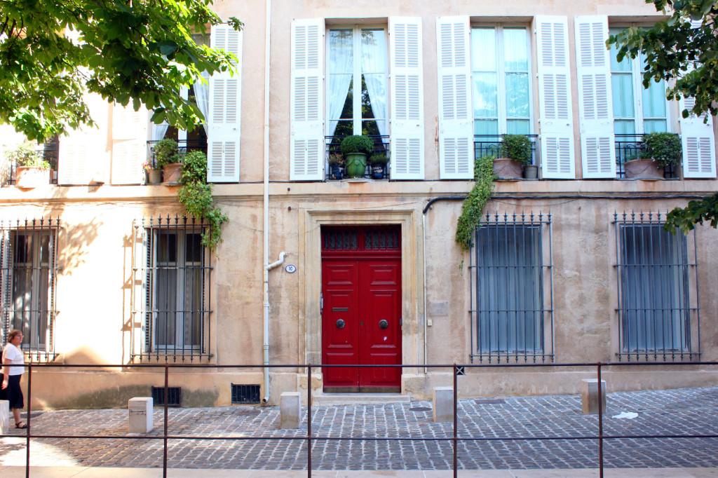 Il quartiere di Aix che raccoglie i palazzi signorili