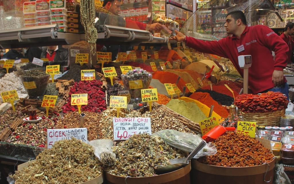 Kapali Carsi, il Gran Bazar di Istanbul