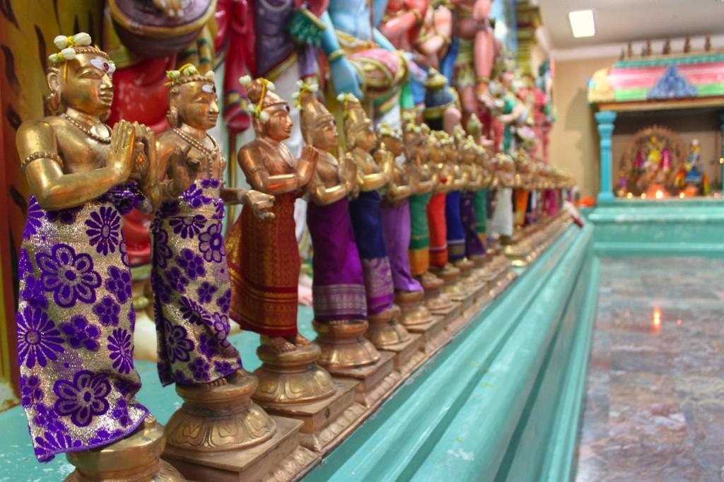Sri Mahamariamman, tempio hindu nel centro di Kuala Lumpur