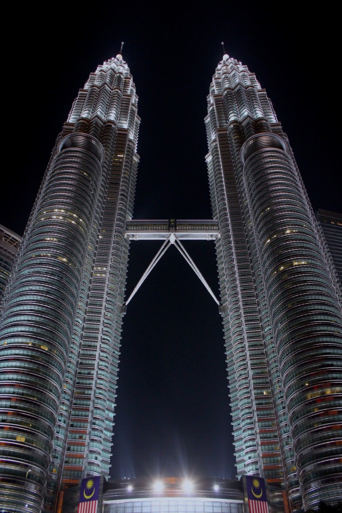 Petronas Tower illuminate