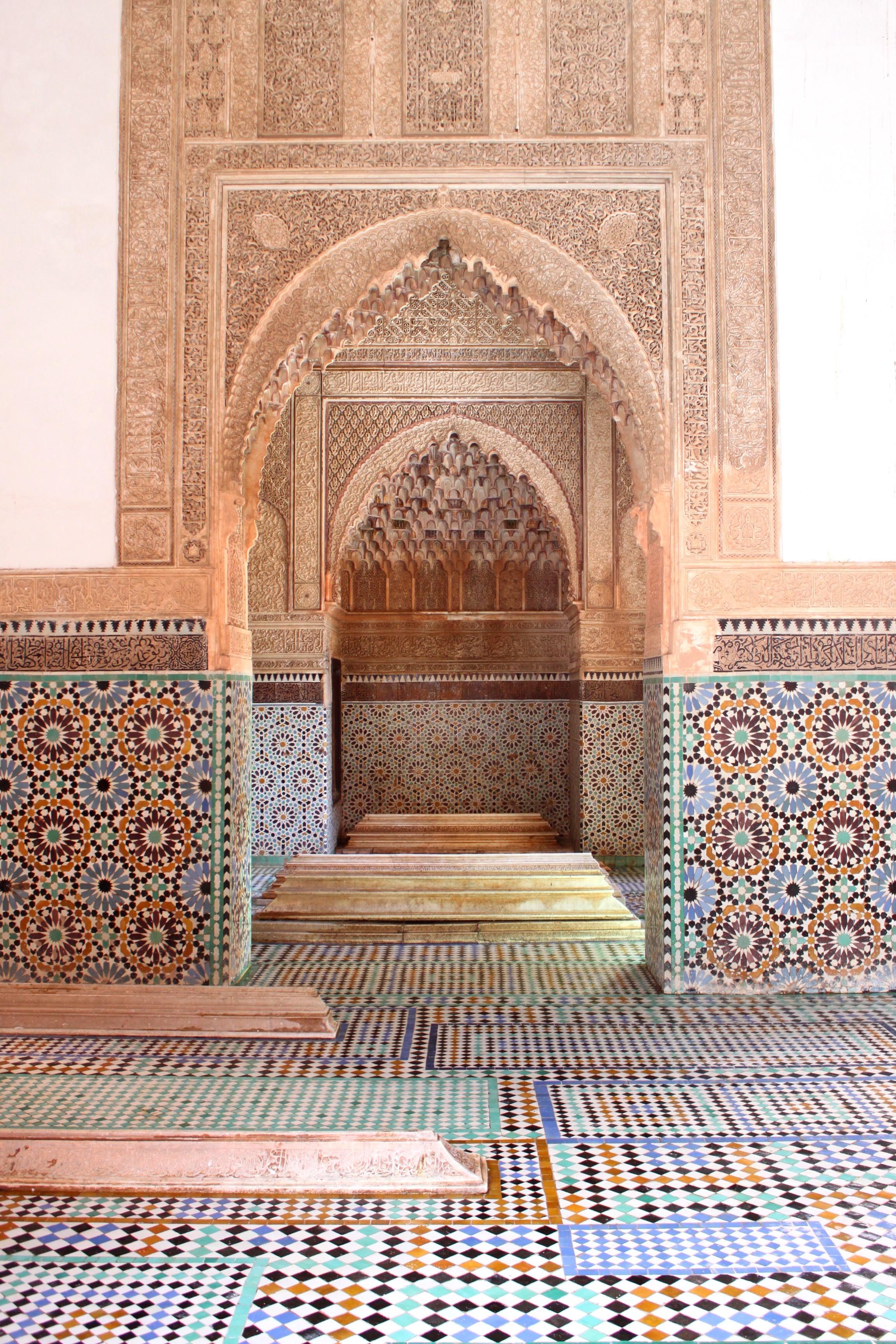Geometrie e colori alle Tombe Saudiane