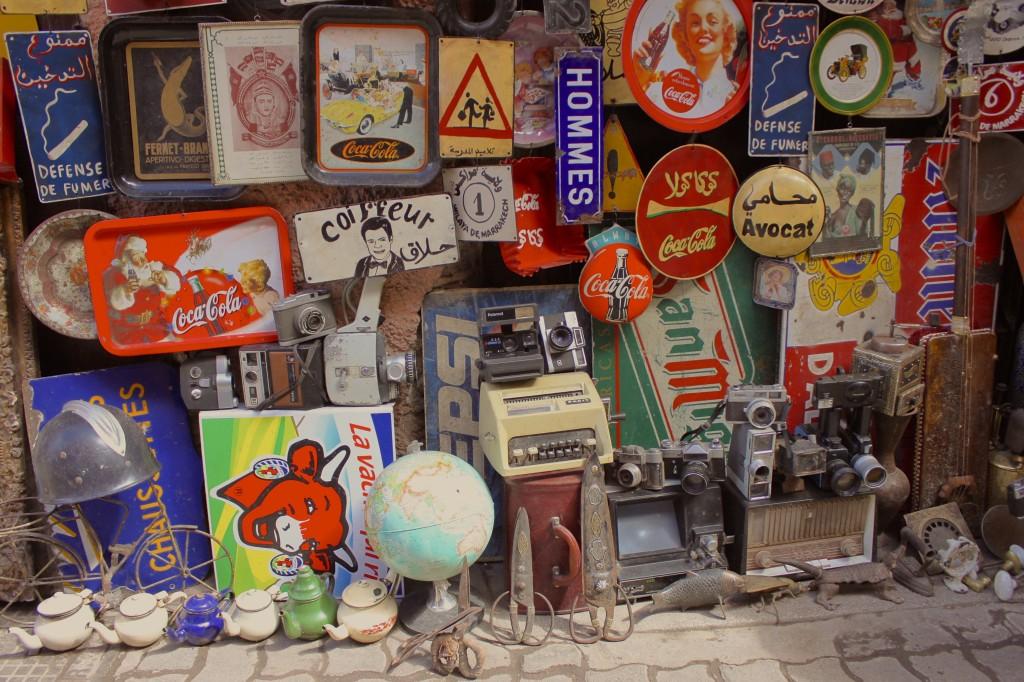 Mercatino vintage anche in Marocco