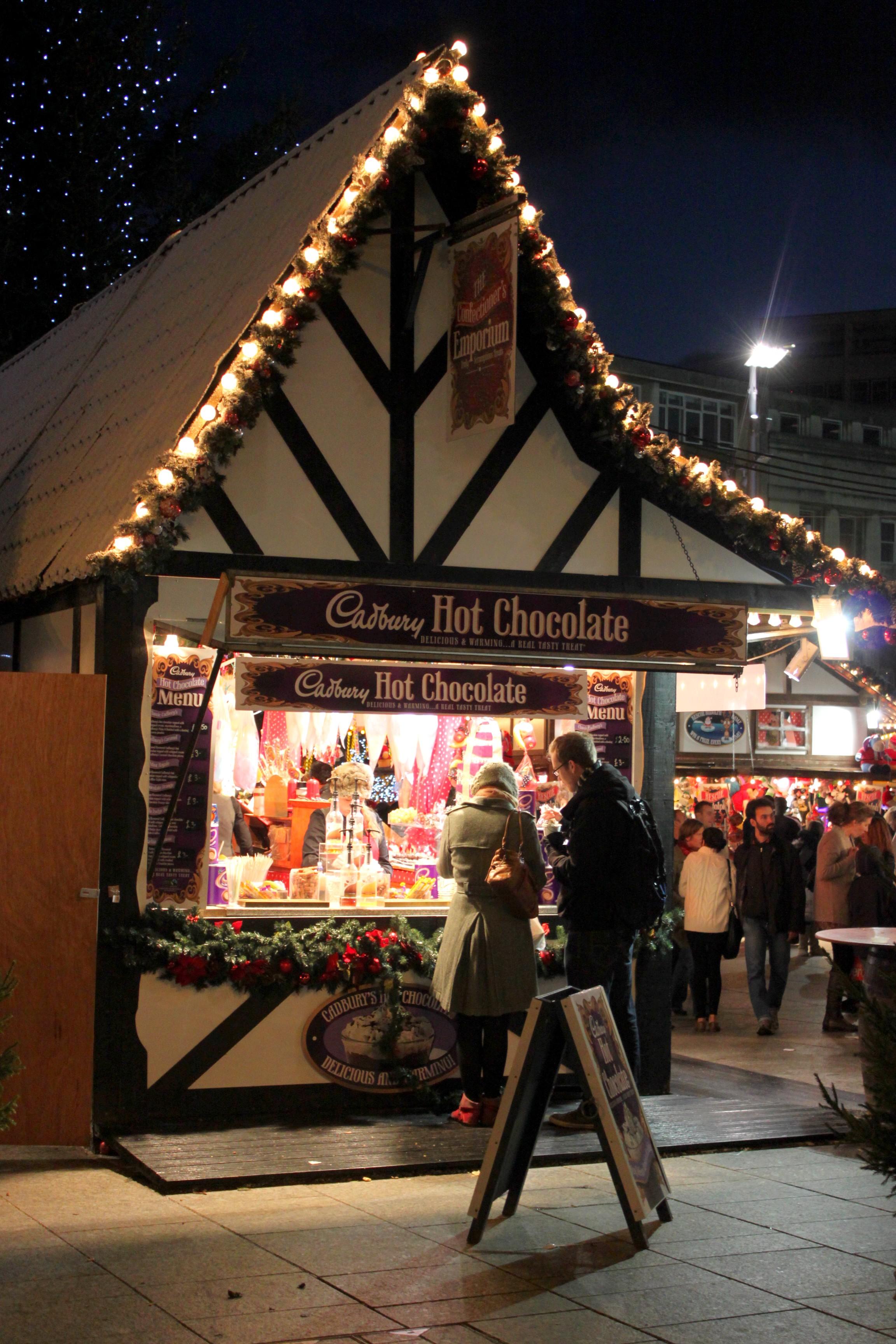Winter Wonderland per tutto il centro di Nottingham