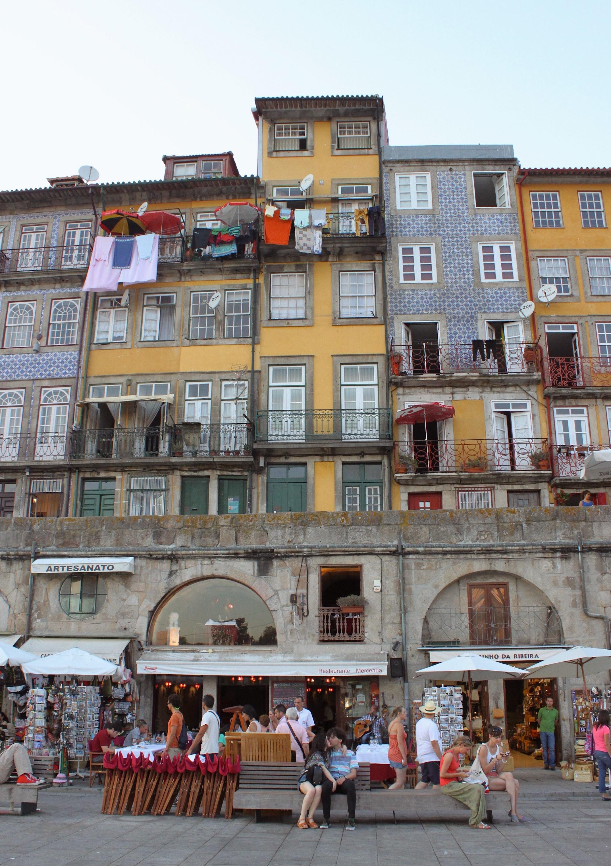 Le casine con gli azulejos sul fiume Douro