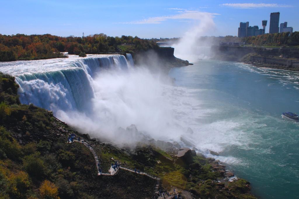 cascate del niagara in ottobre2