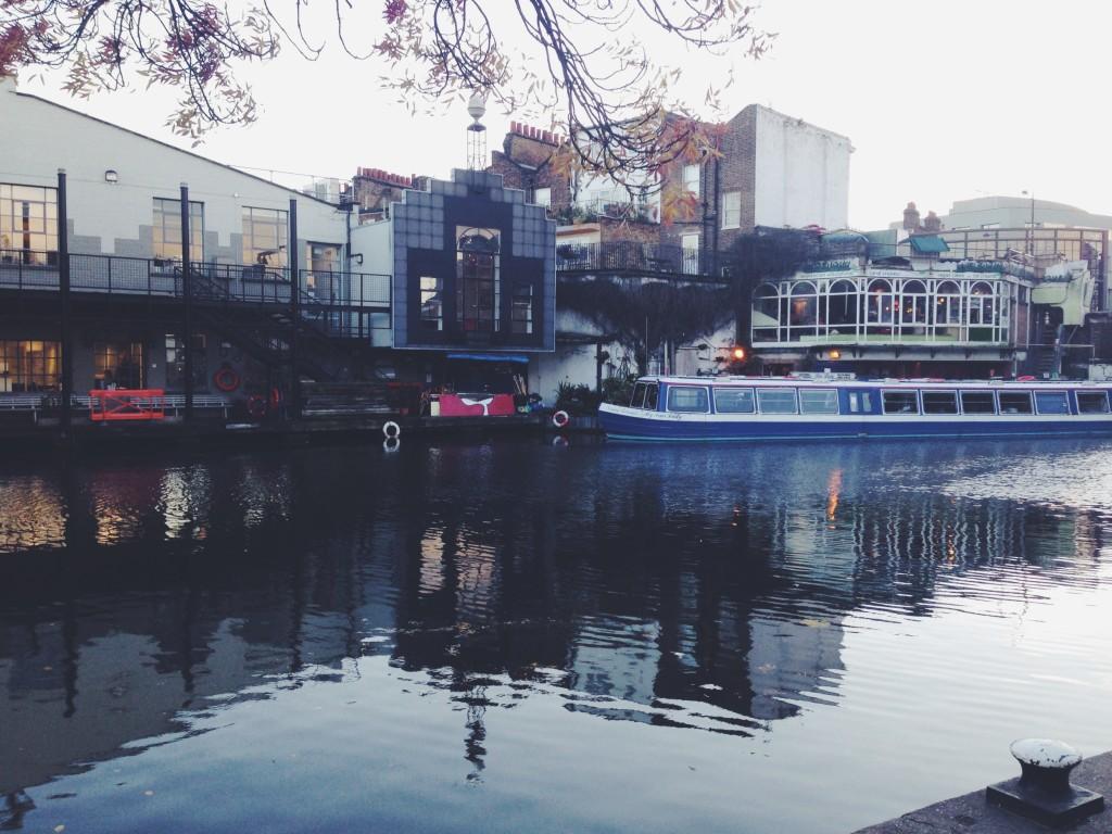 Il Camden Lock al tramonto