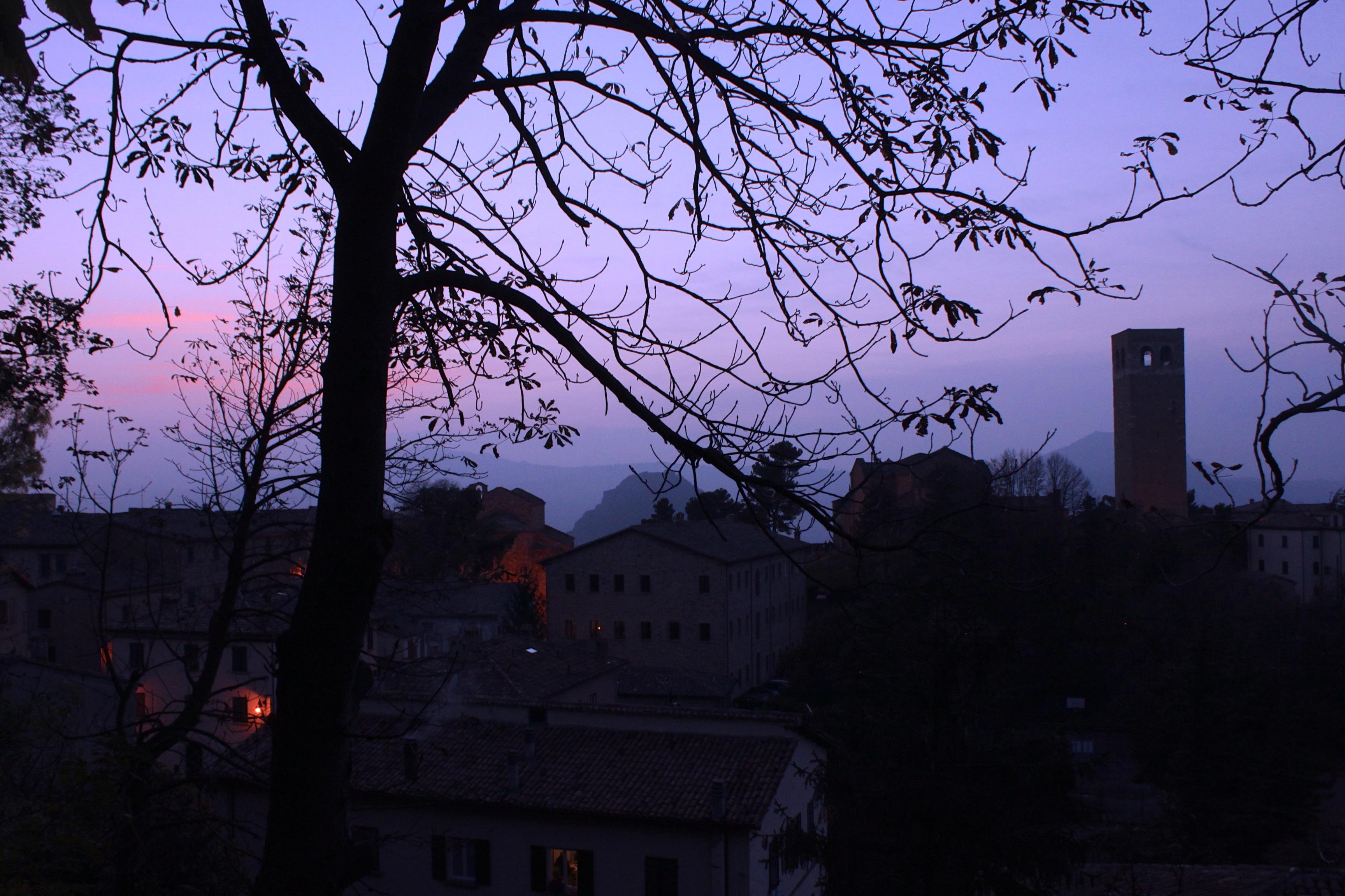 san leo al tramonto