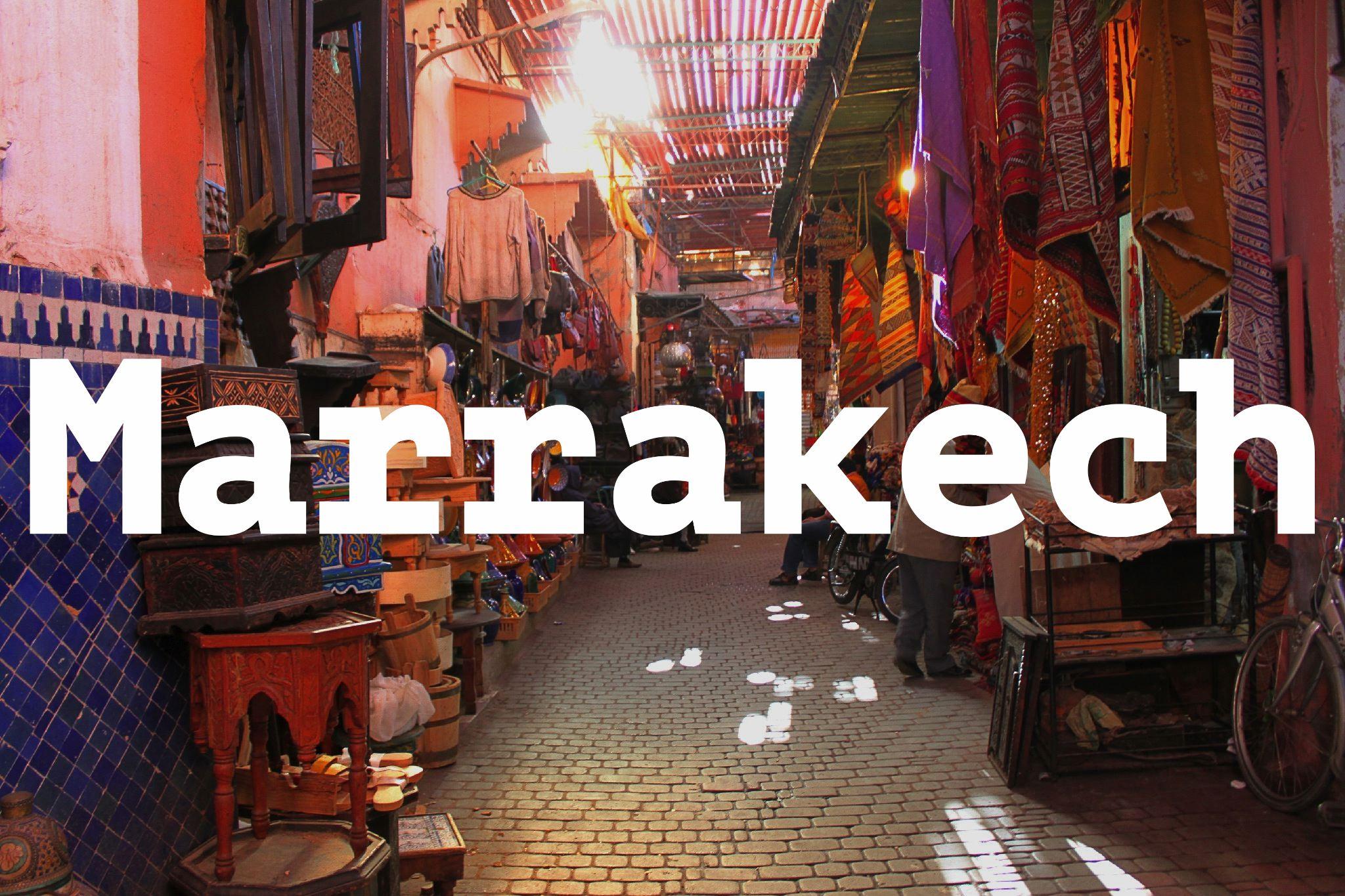 Marrakech in 10 scatti