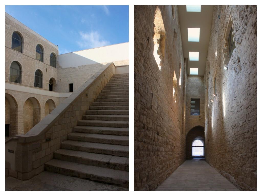 castello svevo di trani interno