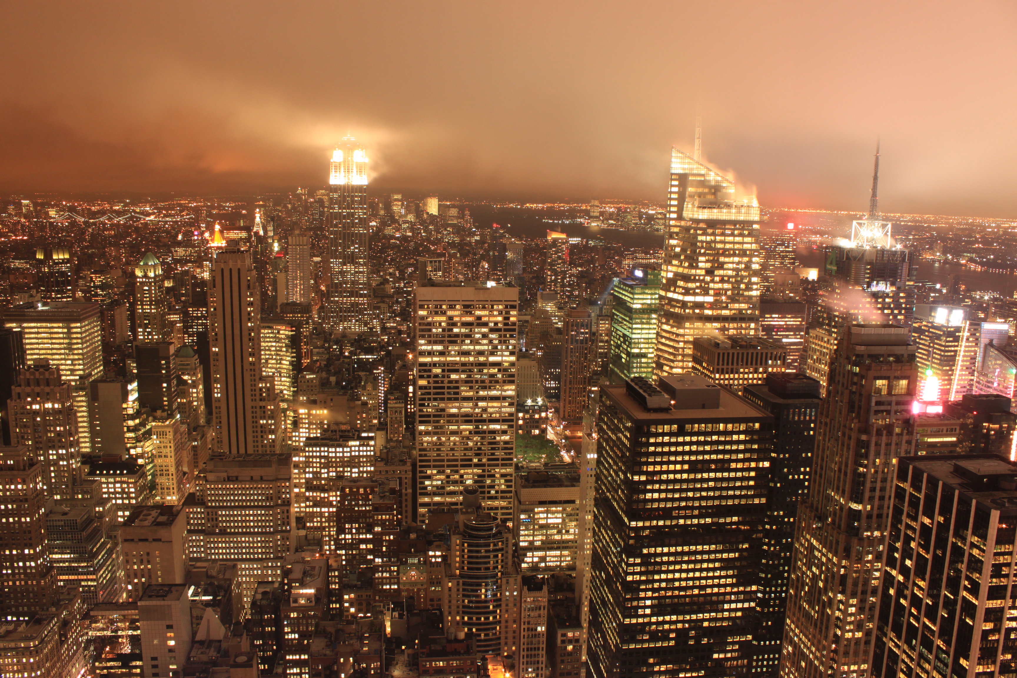 Il mio itinerario di due settimane nel nord est degli for Foto new york notte