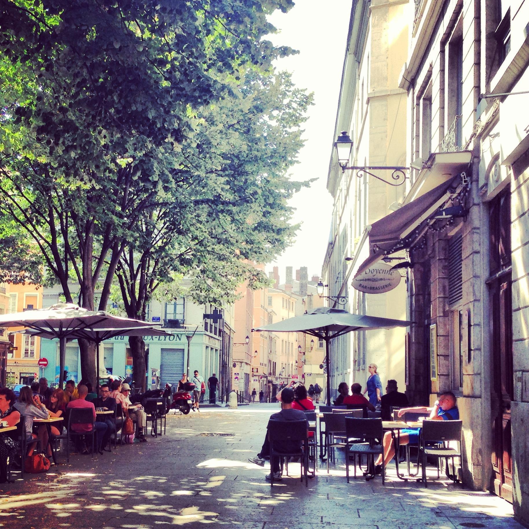 Café, Vieux Lyon