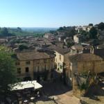 Il panorama da Saint-Émilion