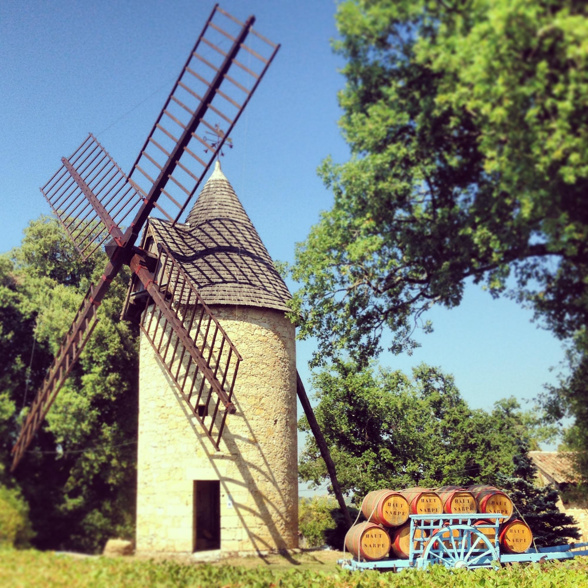 Le campagne intorno a Bordeaux