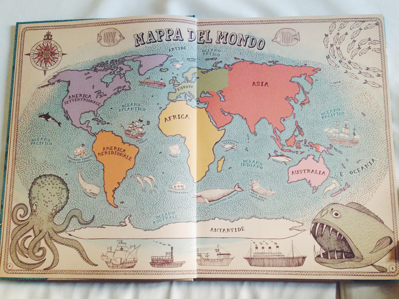 atlante disegnato, mappe