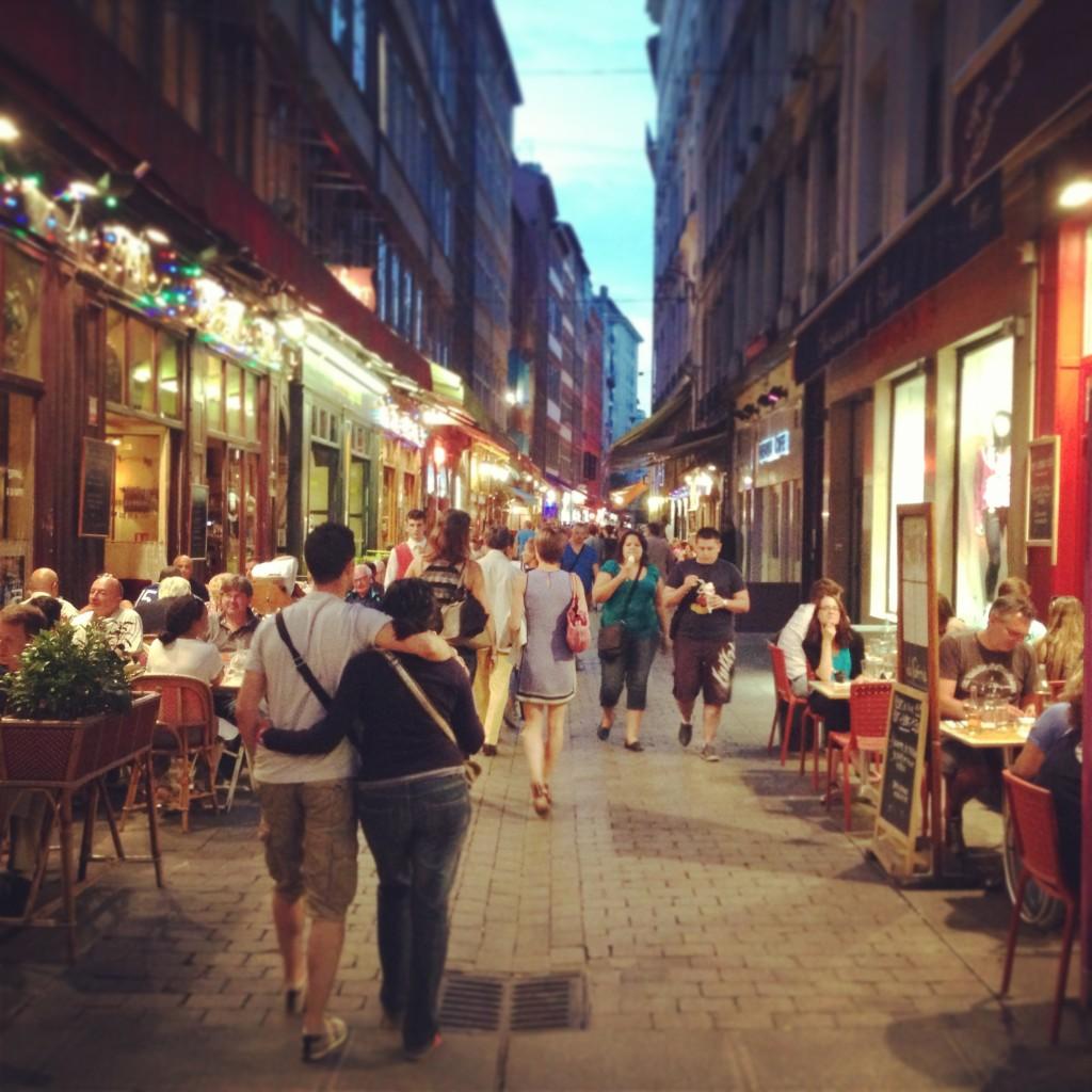 bouchon, ristoranti e piatti tipici a lione