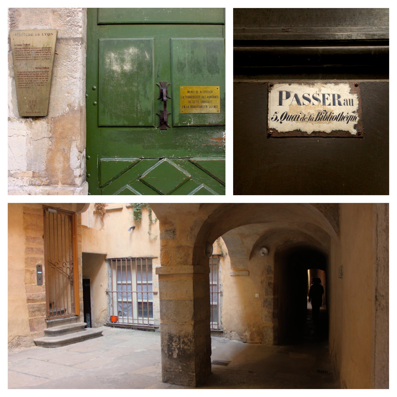 i traboules di lione, passaggi segreti tra i palazzi