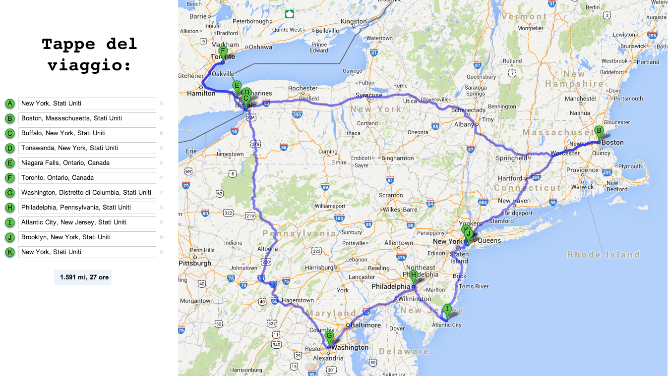 Tour To Maine From New York