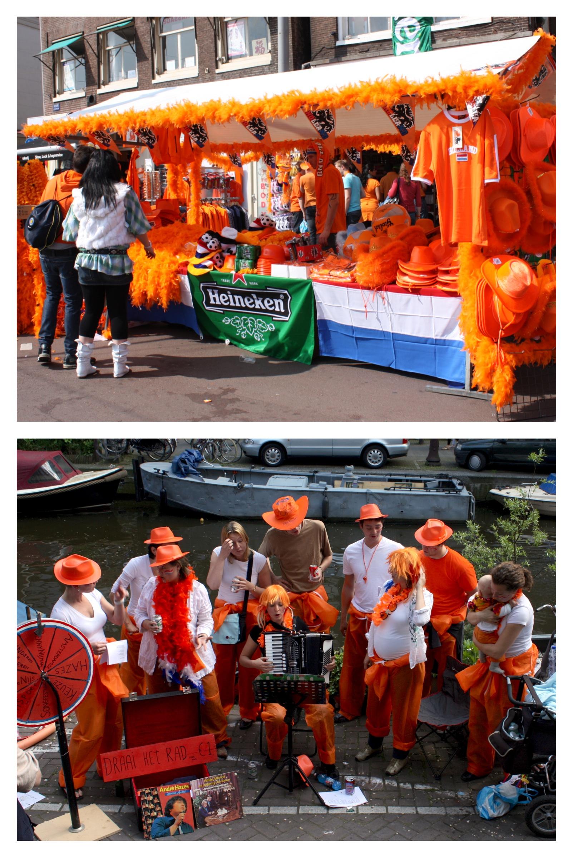 oranjegekte, la follia arancione