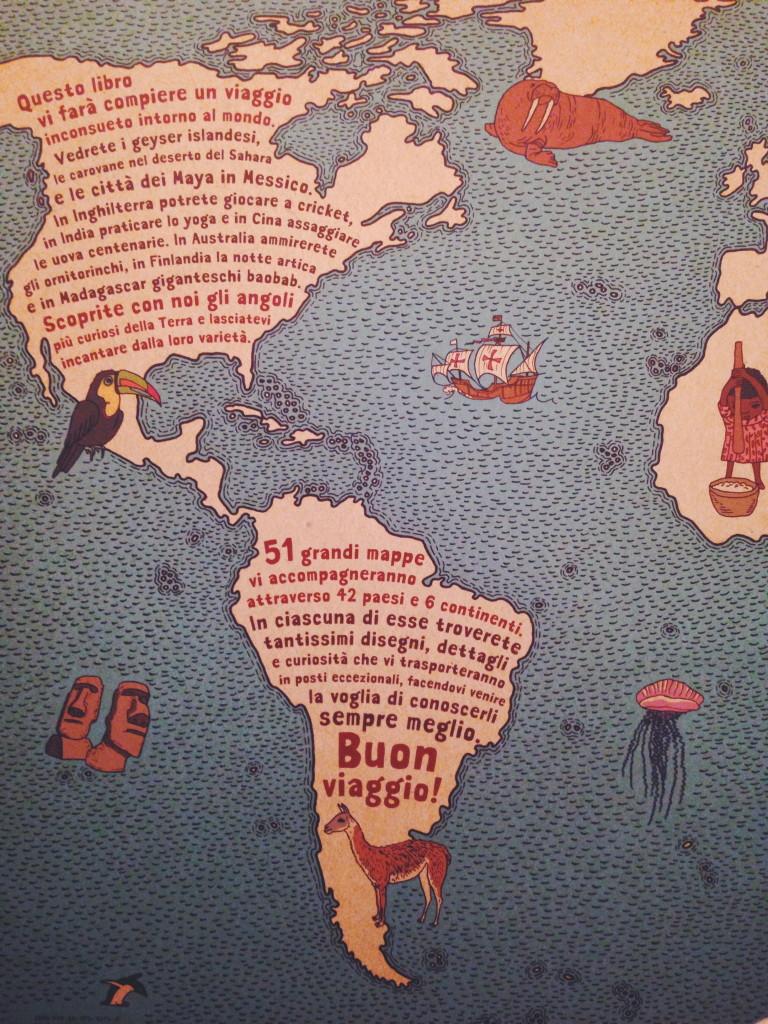 questo libro vi farà compiere un viaggio inconsueto intorno al mondo