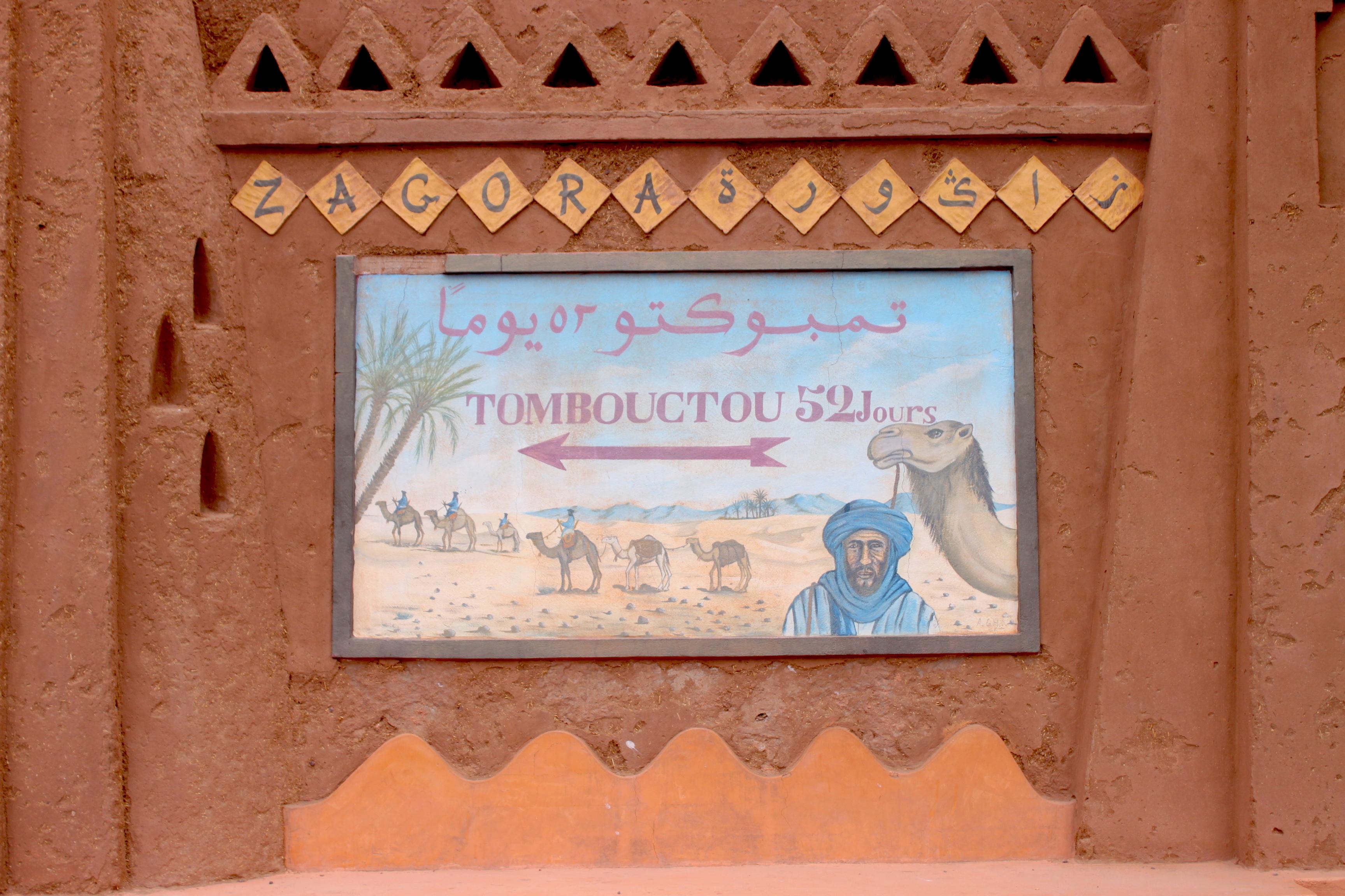 Zagora, Tombouctou a 52 giorni di cammello