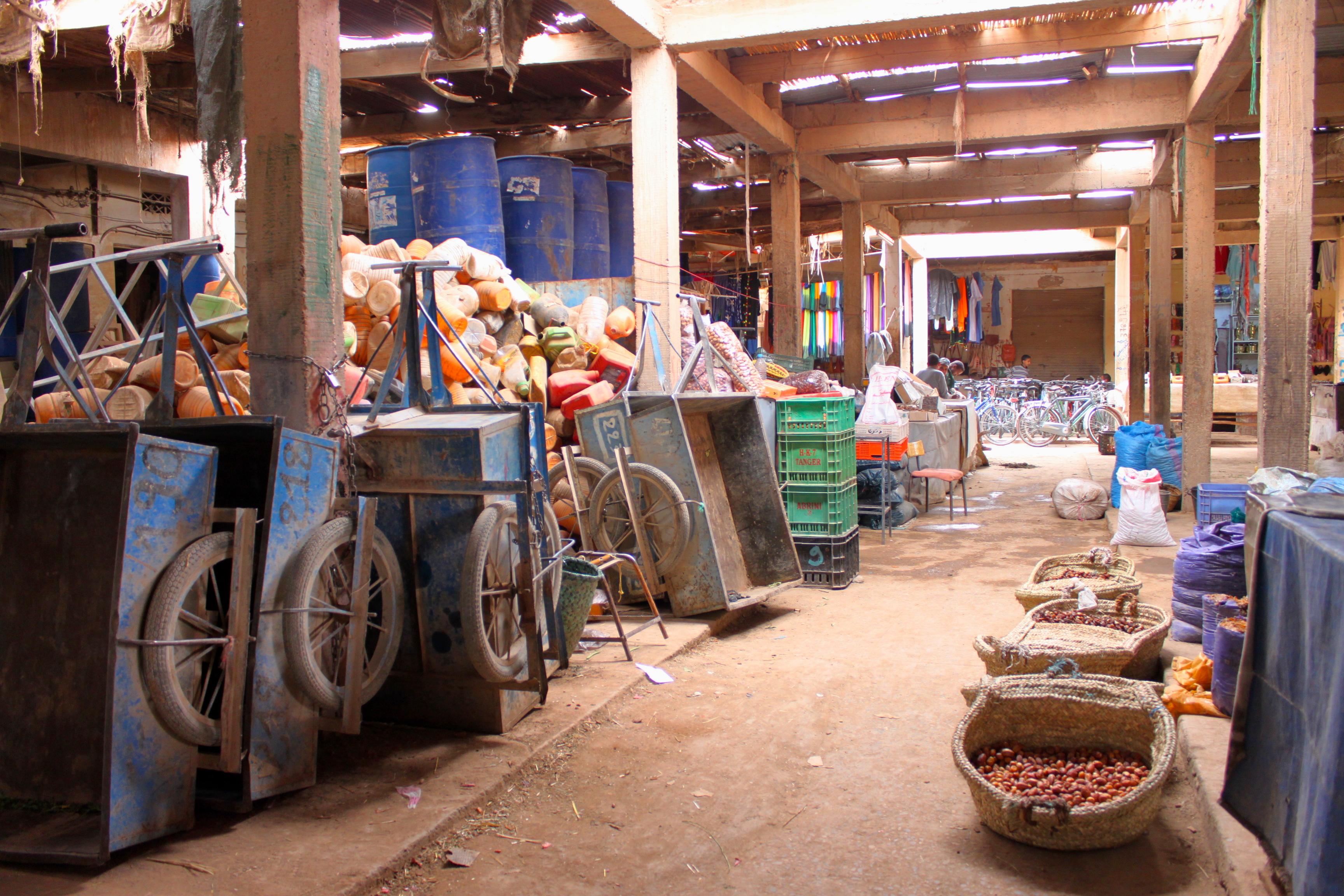l mercato di Rissani