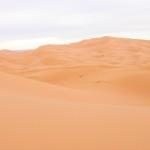 Il deserto del Sahara, Erg Chebbi, di giorno